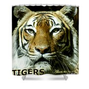 Tigers Mascot 4 Shower Curtain