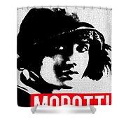 Tina Modotti Shower Curtain by MB Dallocchio