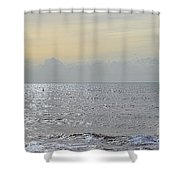 To See The Sea Shower Curtain