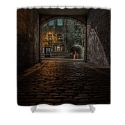 Tolbooth Tavern Shower Curtain