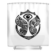 Tomrrowland Shower Curtain
