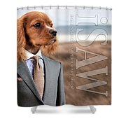Top Dog Magazine Shower Curtain by ISAW Company