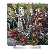 Torquemada, 1492 Shower Curtain
