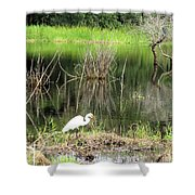 Total Nature Shower Curtain