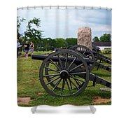 Touring The Gettysburg Battlefield Shower Curtain