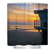 Tower 19, Office With A View Shower Curtain