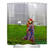 Traditional Look Shower Curtain