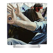 Trails Of The Tribulation  Shower Curtain