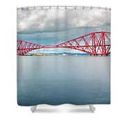 Train Bridge - Forth Of Fifth Shower Curtain