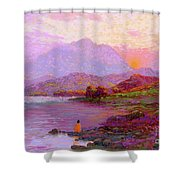 Tranquil Mind Shower Curtain