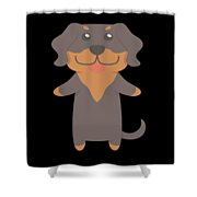 Transylvanian Hound Gift Idea Shower Curtain