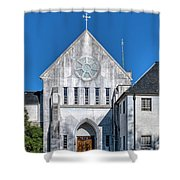 Trappist Monastery Of The Holy Spirit  Shower Curtain