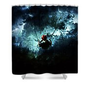 Travel Is Dangerous Shower Curtain