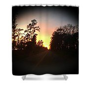 Traveled Road Shower Curtain