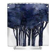 Tree Impressions 1f Shower Curtain