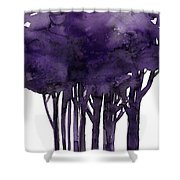 Tree Impressions 1h Shower Curtain