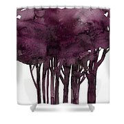 Tree Impressions 1j Shower Curtain
