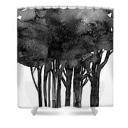 Tree Impressions 1l Shower Curtain