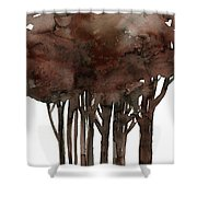 Tree Impressions No. 1 Shower Curtain