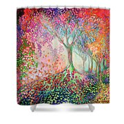 Tree Of Celebration Shower Curtain