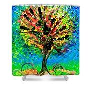 Tree Of Faith Shower Curtain