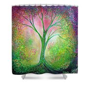 Tree Of Tranquility Shower Curtain