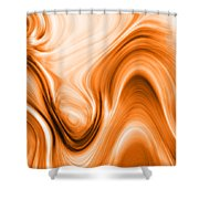 Tree Resin Shower Curtain