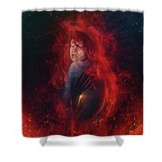Tremors Shower Curtain