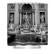 Trevi Fountain - Fontana Di Trevi Shower Curtain