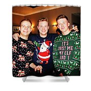 Trio Posing Shower Curtain