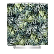 Tropical Leaves I Shower Curtain