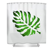 Tropical Shower Curtain by Phyllis Howard