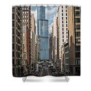 Trump Tower Shower Curtain