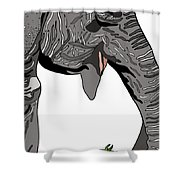 Trunk King Shower Curtain