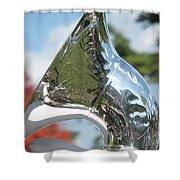 Tuba Shine Shower Curtain