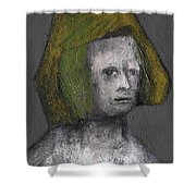 Tudor Portrait Shower Curtain