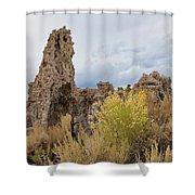 Tufa Of Mono Lake Shower Curtain