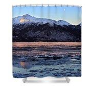 Turnagain Arm At Dawn Alaska Shower Curtain