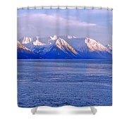 Turnagain Shower Curtain