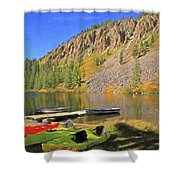 Twin Lakes Shower Curtain