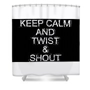 Twist And Shout V3 Shower Curtain