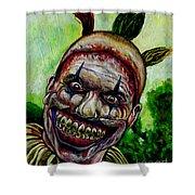 Twisty The Clown Shower Curtain