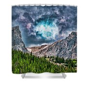 Two Billion Years In The Making Shower Curtain