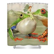 Two Princes Shower Curtain