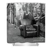 U Street Chair Washington Dc Shower Curtain