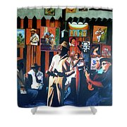 Uncle Bar Shower Curtain