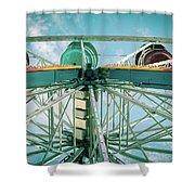 Under The Ferris Wheel Shower Curtain