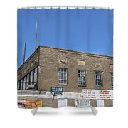 Union Market Washington Dc Wholesale Butcher Shop Shower Curtain