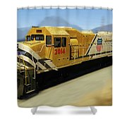 Union Pacific 2014 At Work Shower Curtain