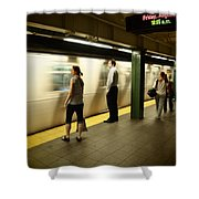 Union Square Station No.1 Shower Curtain